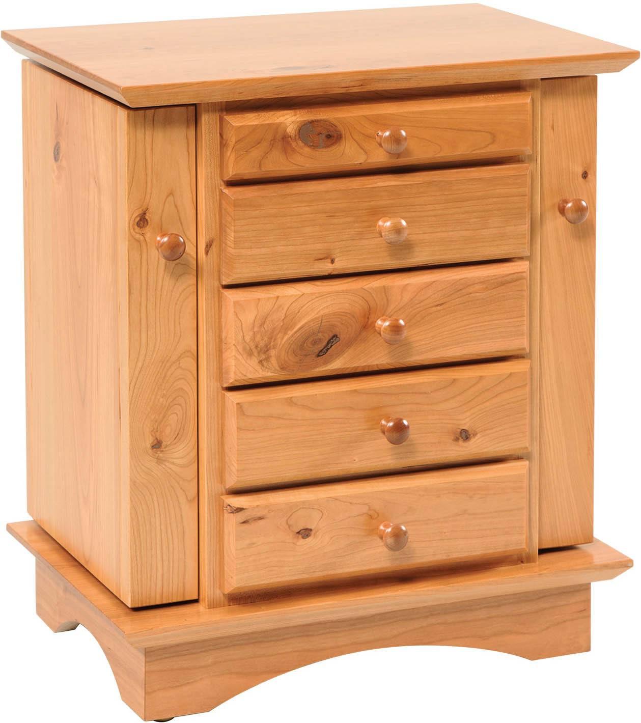 20 inch Shaker Dresser Top Jewelry Cabinet