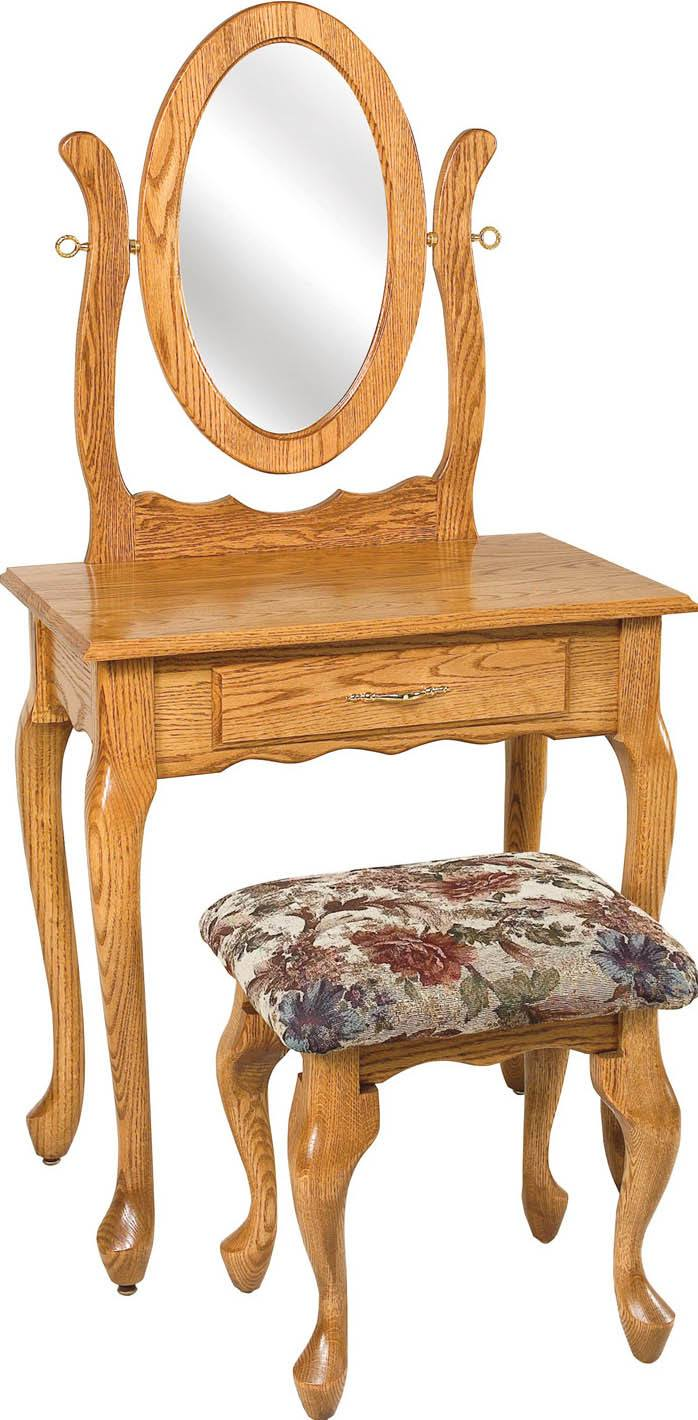29 1/2 inch Queen Anne Dressing Table