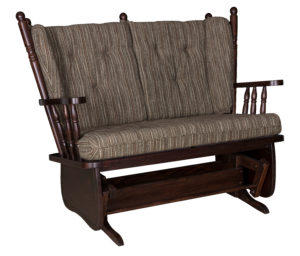 4-Post Low Back Loveseat