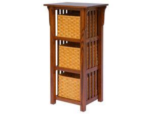 Basket Upright Mission Shelf