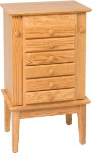 35 inch Shaker Jewelry Armoire