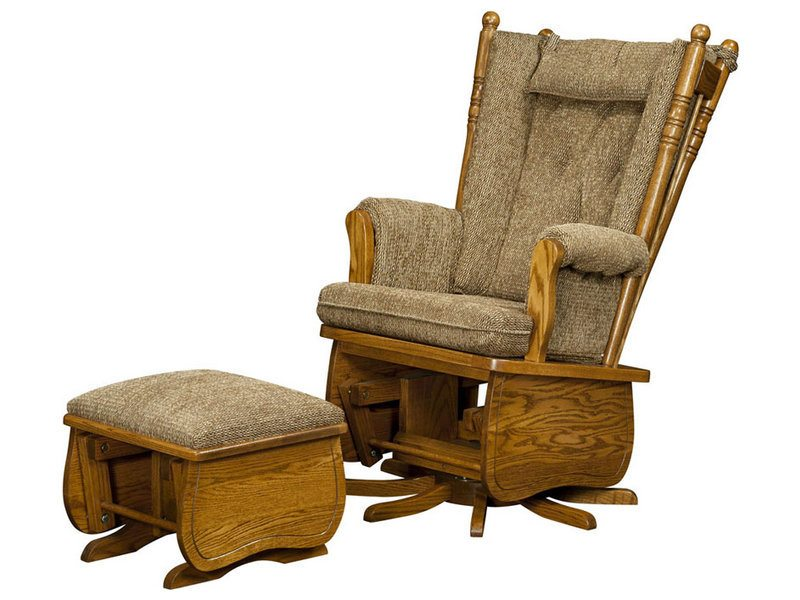 4post highback swivel glider - Glider Rocker Chair