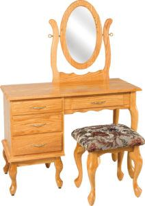 42 inch Queen Anne Dressing Table