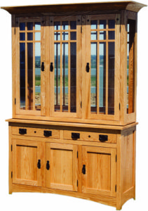 54-Inch Royal Mission Hutch