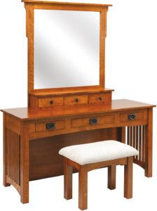60 inch Mission Dressing Table