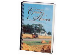 Amish Cookbook Heritage Country Harvest