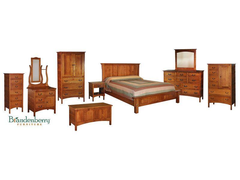 Granny Mission Bedroom Set