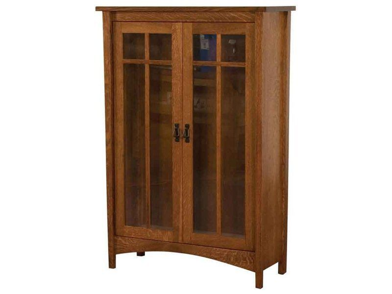 Arts and Crafts Bookcase with Doors