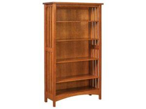 Arts and Crafts Slat Bookcase