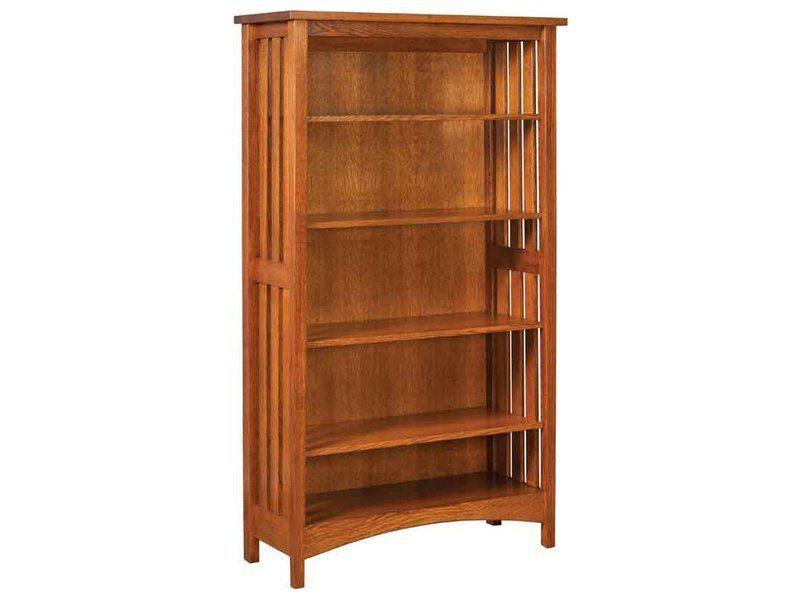 Arts and Crafts Slat Bookcase