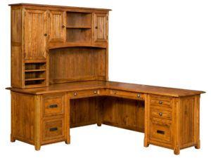 Ashton Corner Desk with Topper