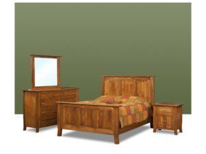 Batavia Grey Elm Bed