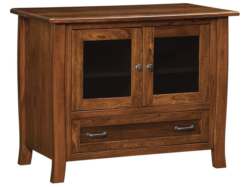 Batavia One Drawer, Two Door Plasma Stand