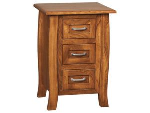 Batavia Three Drawer Nightstand