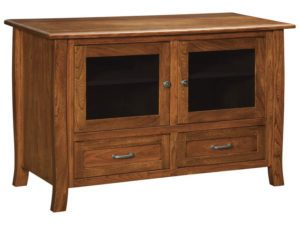 Batavia Two Drawer, Two Door Plasma Stand