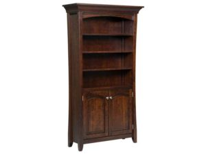 Berkley Bookcase with Doors