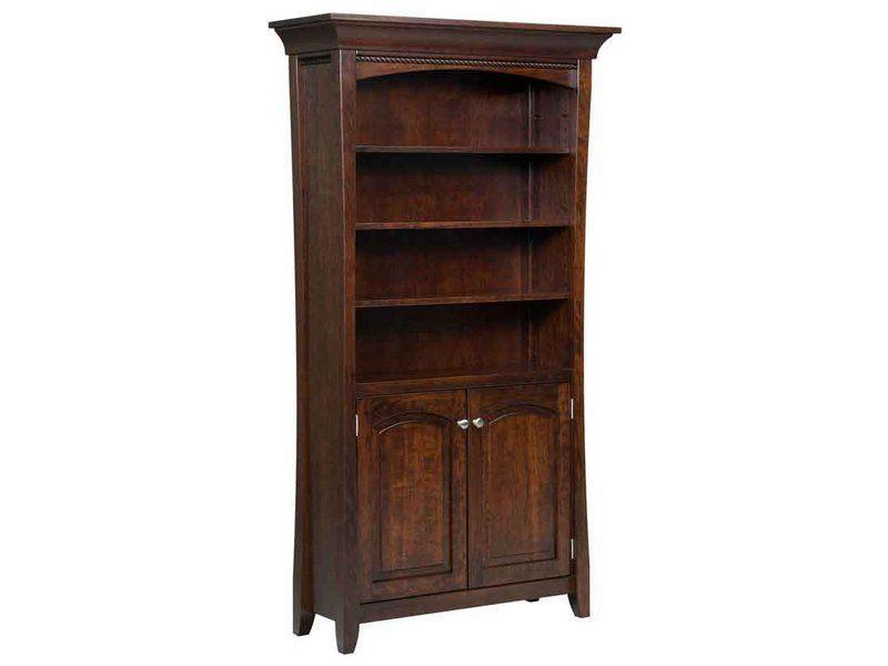 Berkley Bookcase with Doors