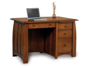 Boulder Creek Four Drawer Desk