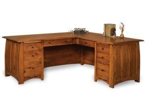 Boulder Creek L Shaped Desk