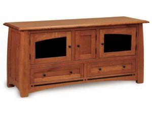 Boulder Creek Two Drawer TV Stand