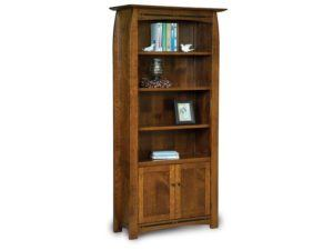 Boulder Creek Two Door Bookcase