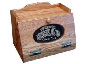 Bread Box with Plexiglas Front