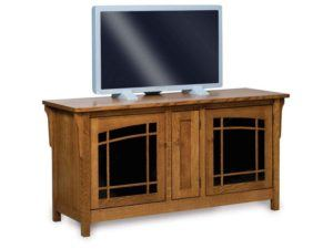 Bridger Mission Three Door TV Stand