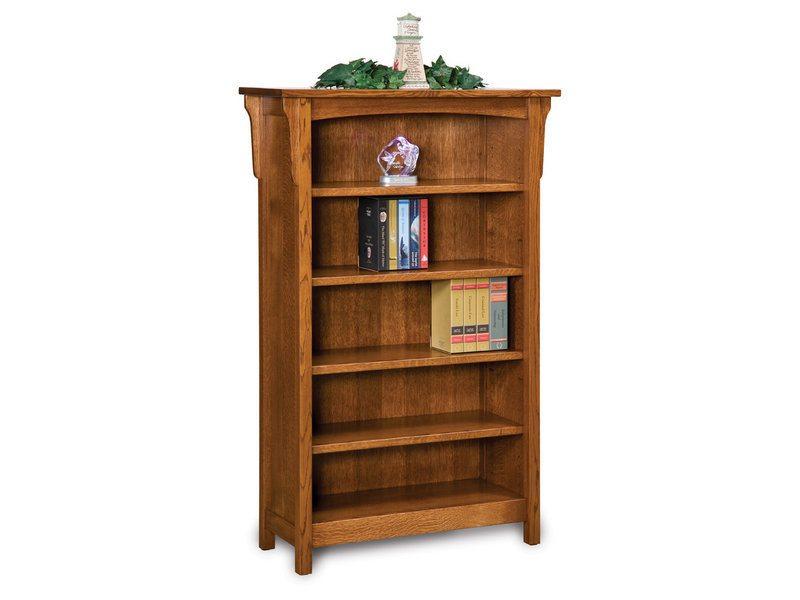 Bridger Mission Four Shelf Bookcase
