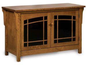 Bridger Mission Two Door TV Stand