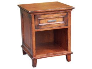 Brooklyn Collection 1 Drawer Nightstand