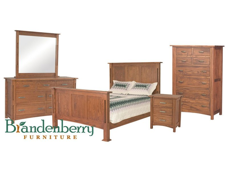 Amish Brooklyn Mission Bedroom Set - Brandenberry Amish ...