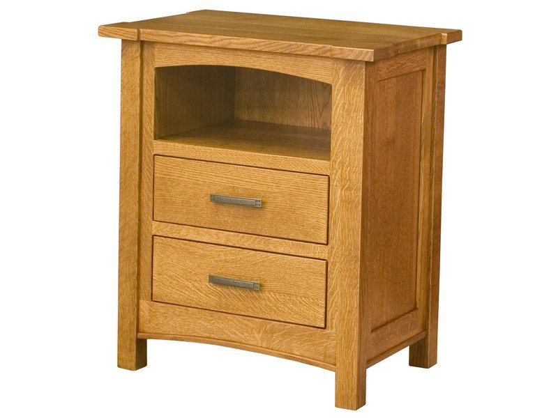 Brooklyn Mission Large Bedside Chest