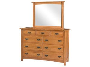 Brooklyn Mission Nine Drawer Dresser