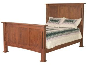 Brooklyn Mission Panel Bed