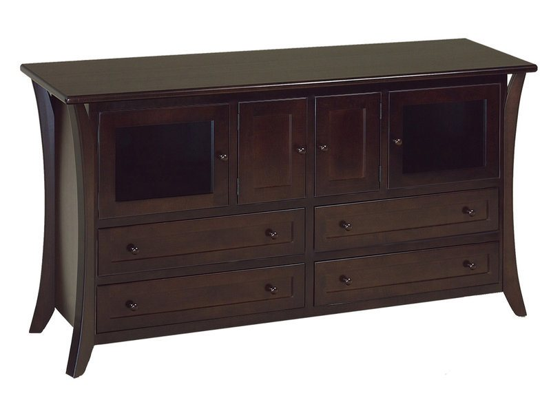 caledonia 72 Inch TV Cabinet Stack