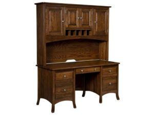 Carlisle Desk with Hutch