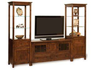 Centennial Open Three Piece Wall Unit