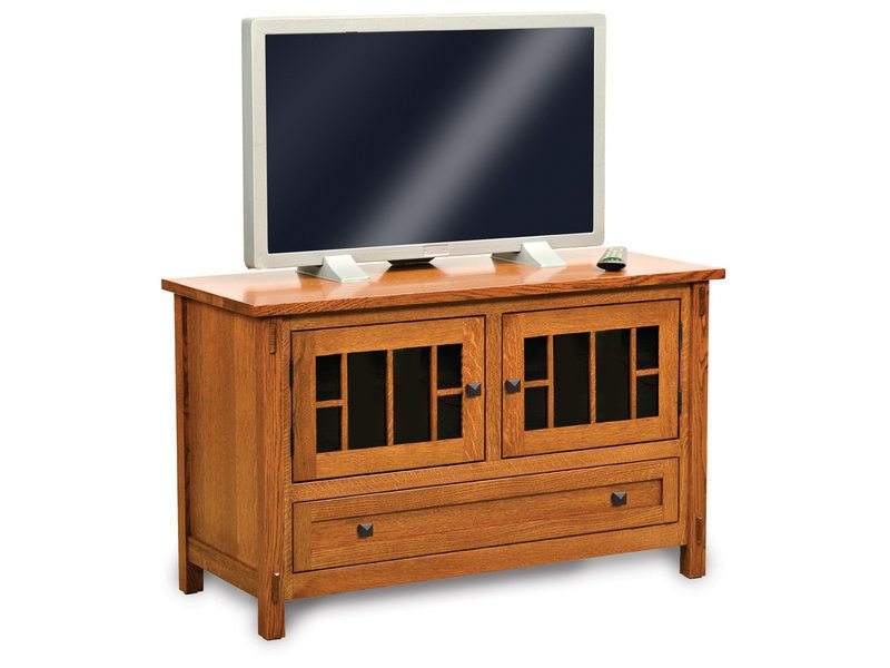 Centennial Two Door, One Drawer LCD Stand