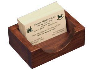 Cherry Business Card Box
