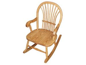 Child's Oak Sheaf Rocker