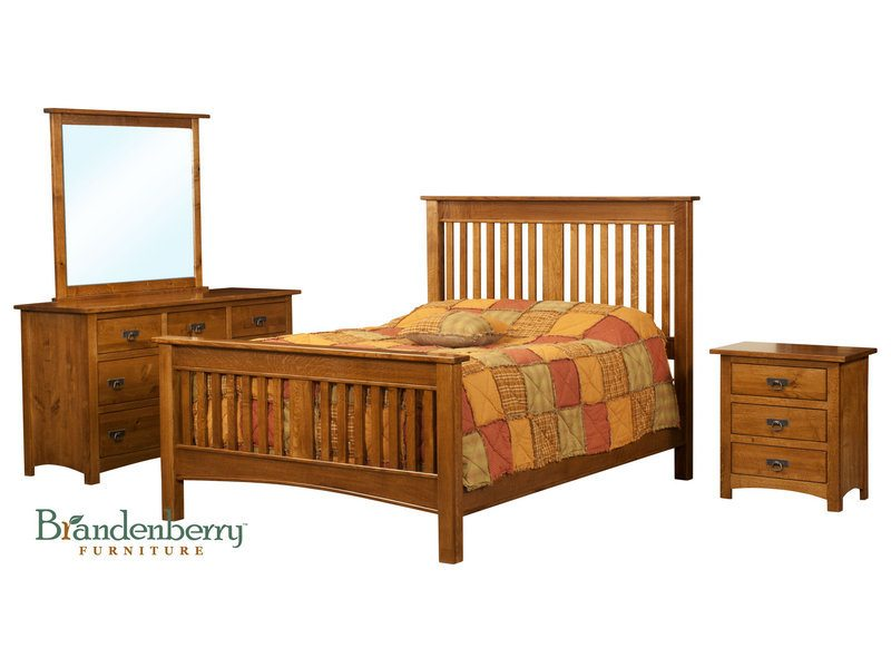 Classic Mission Bedroom Set
