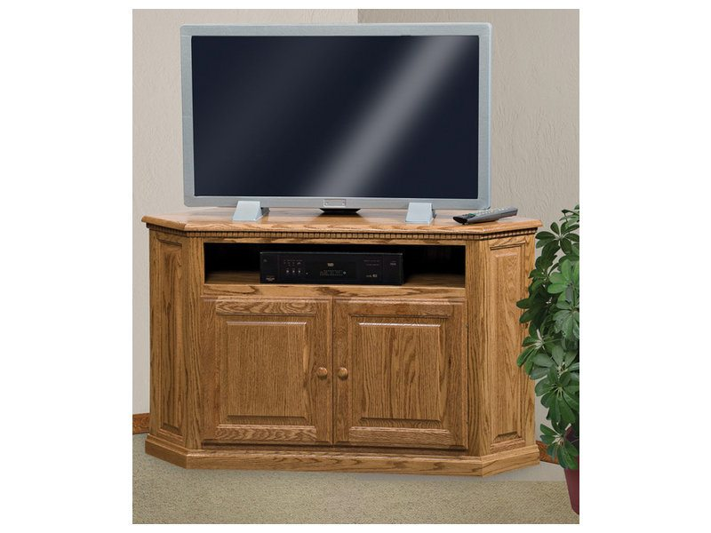 Amish Classic Two Door Corner LCD Stand