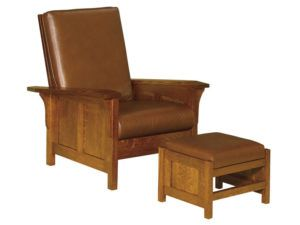 Clearspring Panel Morris Chair and Footstool