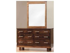 Contempo Children's Dresser with Mirror