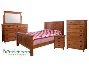 Country Mission Wood Bedroom Set