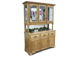 Country Post Three Door Hutch