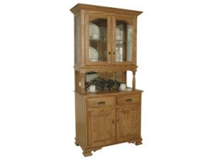 Country Post Two Door Hutch