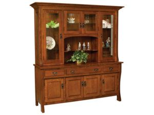 Custer Eight Door Hutch