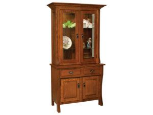 Custer Four Door Hutch