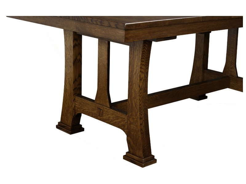 Custer Table Indiana Amish Table Customizable Table